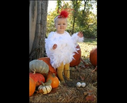 Easy halloween costumes how to make a chicken costume halloween cher is back on the charts with womans world farm costumeschicken costumesdiy costumesbaby solutioingenieria Image collections