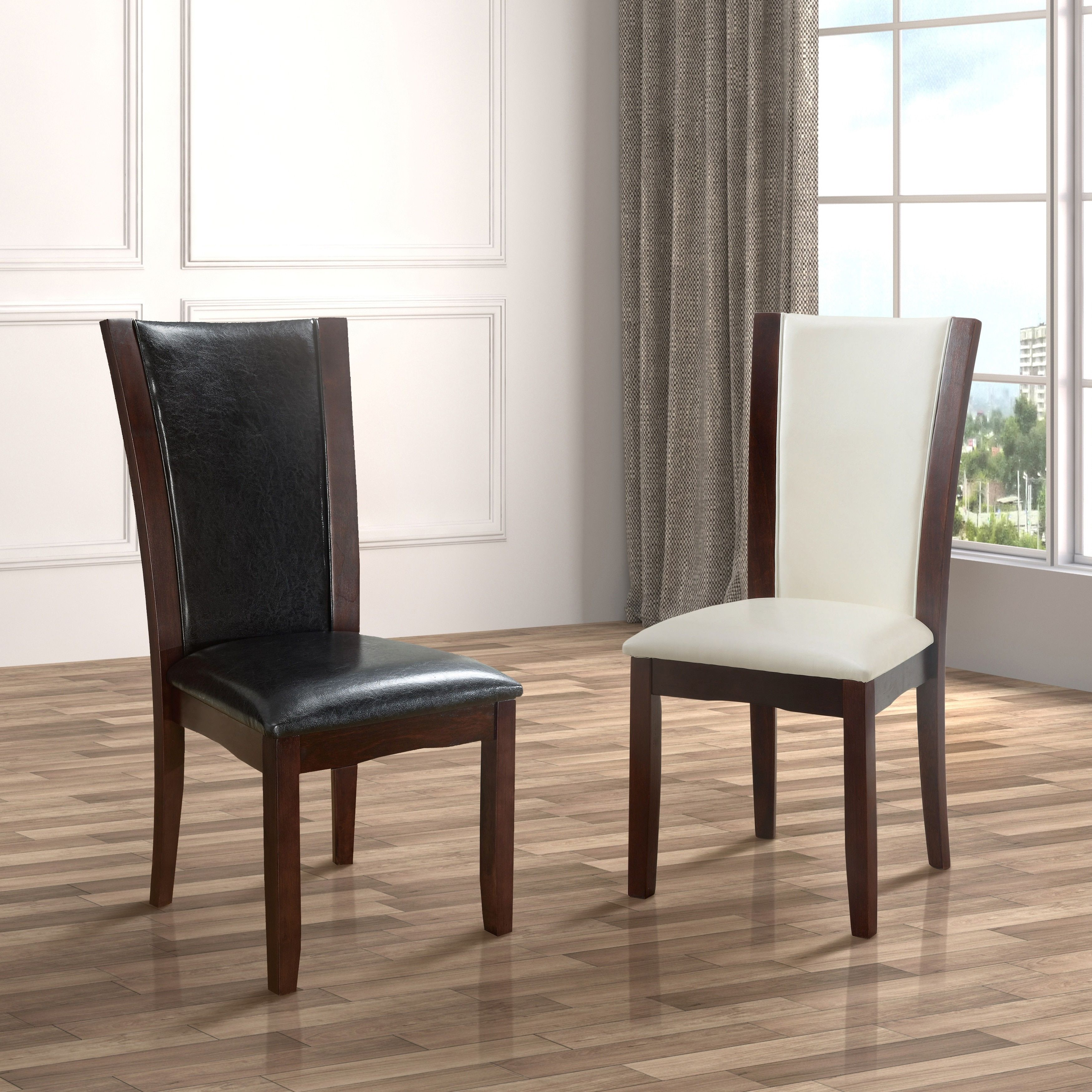 Shop Our Biggest Semi Annual Sale Now Black Leather Dining Chair