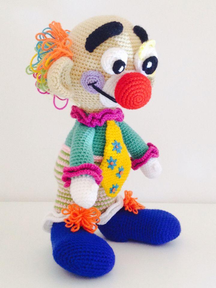 Clown delicious crochet | Tırtıl | Pinterest | Tiere häkeln ...