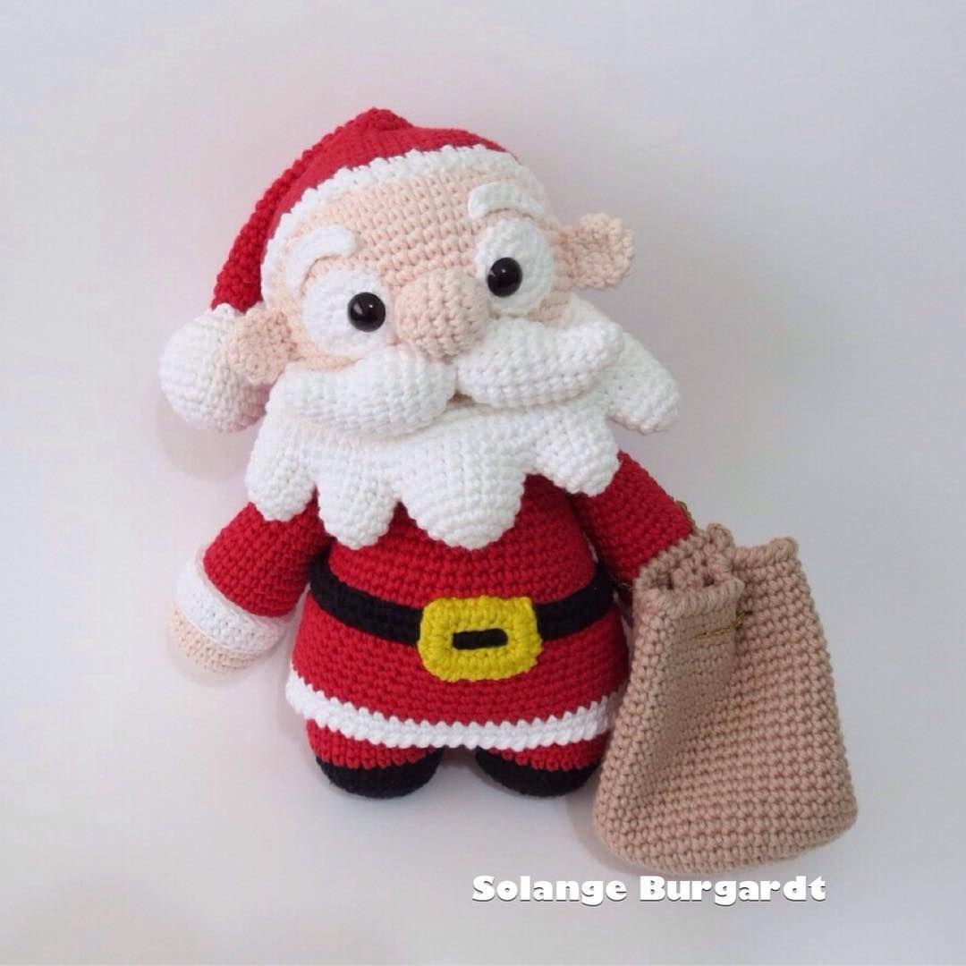 Amigurumi pattern: crochet Christmas micro world | 1080x1080