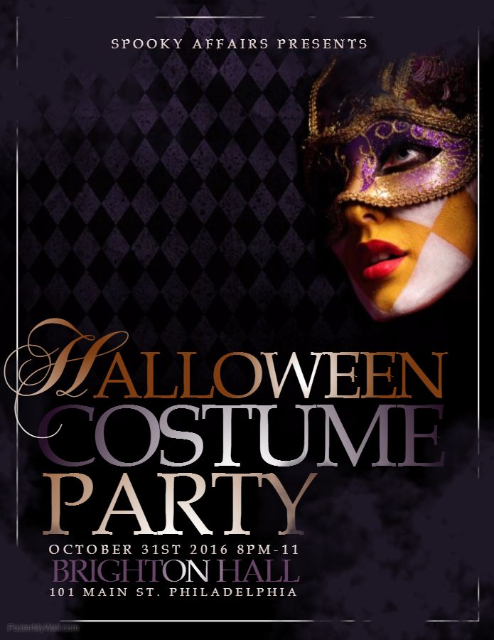 halloween costume party flyer template halloween party flyer
