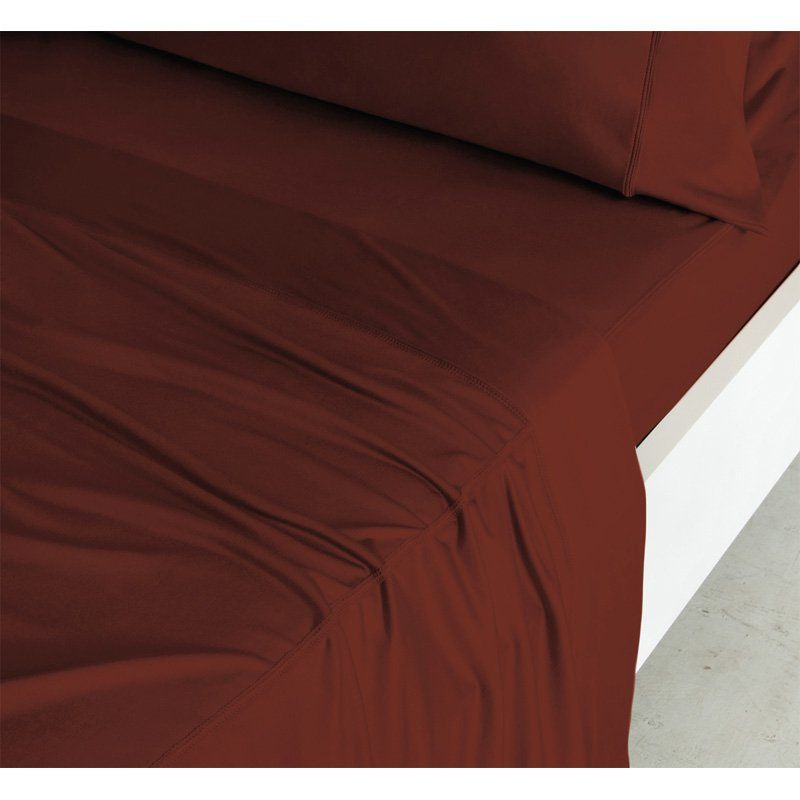 Luxury Copper Collection 4 Piece Sheet Set By Sheex Rust 813417019370 Sheet Sets Copper Sheets Copper Bed