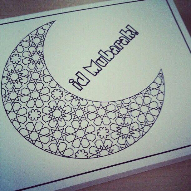 pinaßdo mokh on اا  eid cards ramadan crafts eid crafts