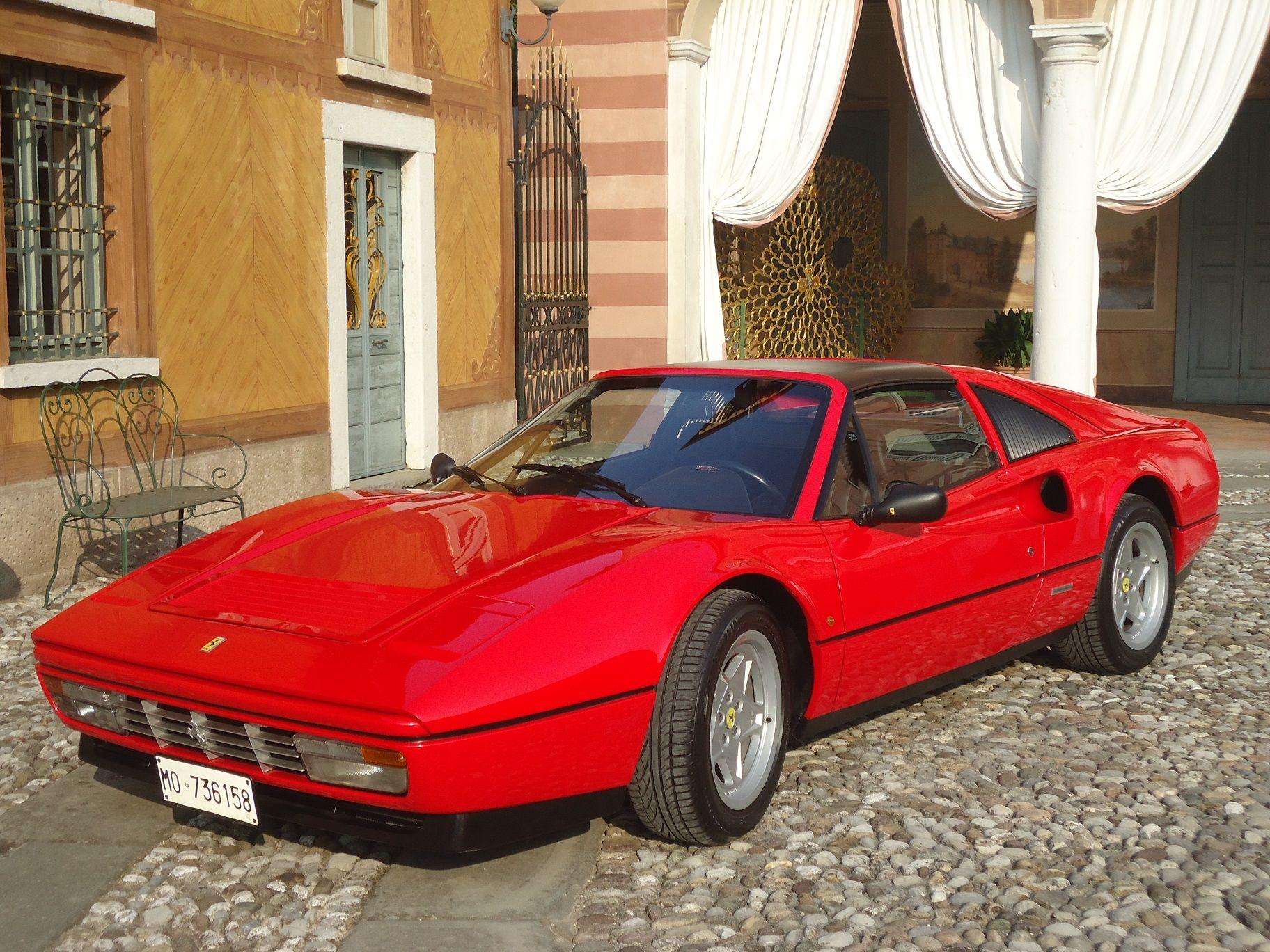 328 Gts Targhe Modena Certificata Ferrari Classiche