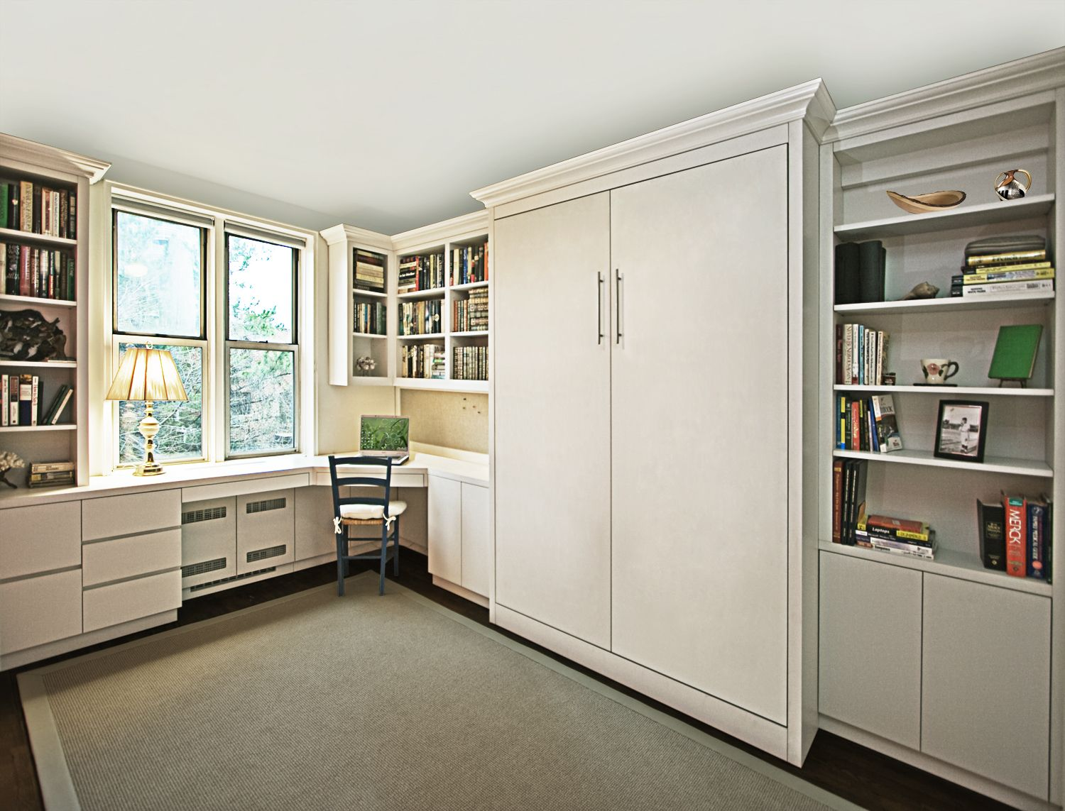 Delicieux View Images Of Some Of The Murphy Beds From Manhattan Cabinetry. We Offer  An Almost Unlimited Selection Of Materials And Finishes.