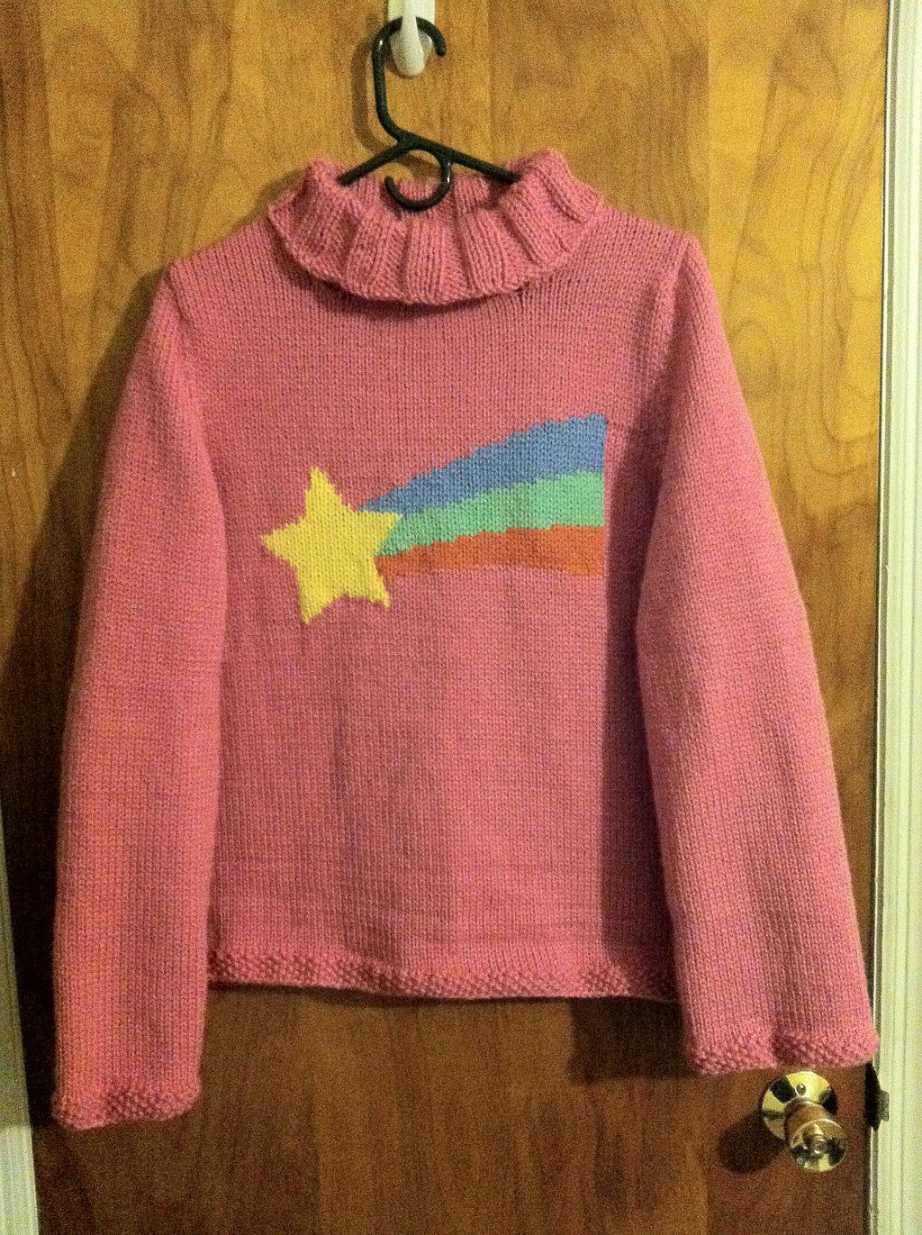 Cosplay commission.  Mabel Pines Sweater by playswithstring.deviantart.com on @deviantART
