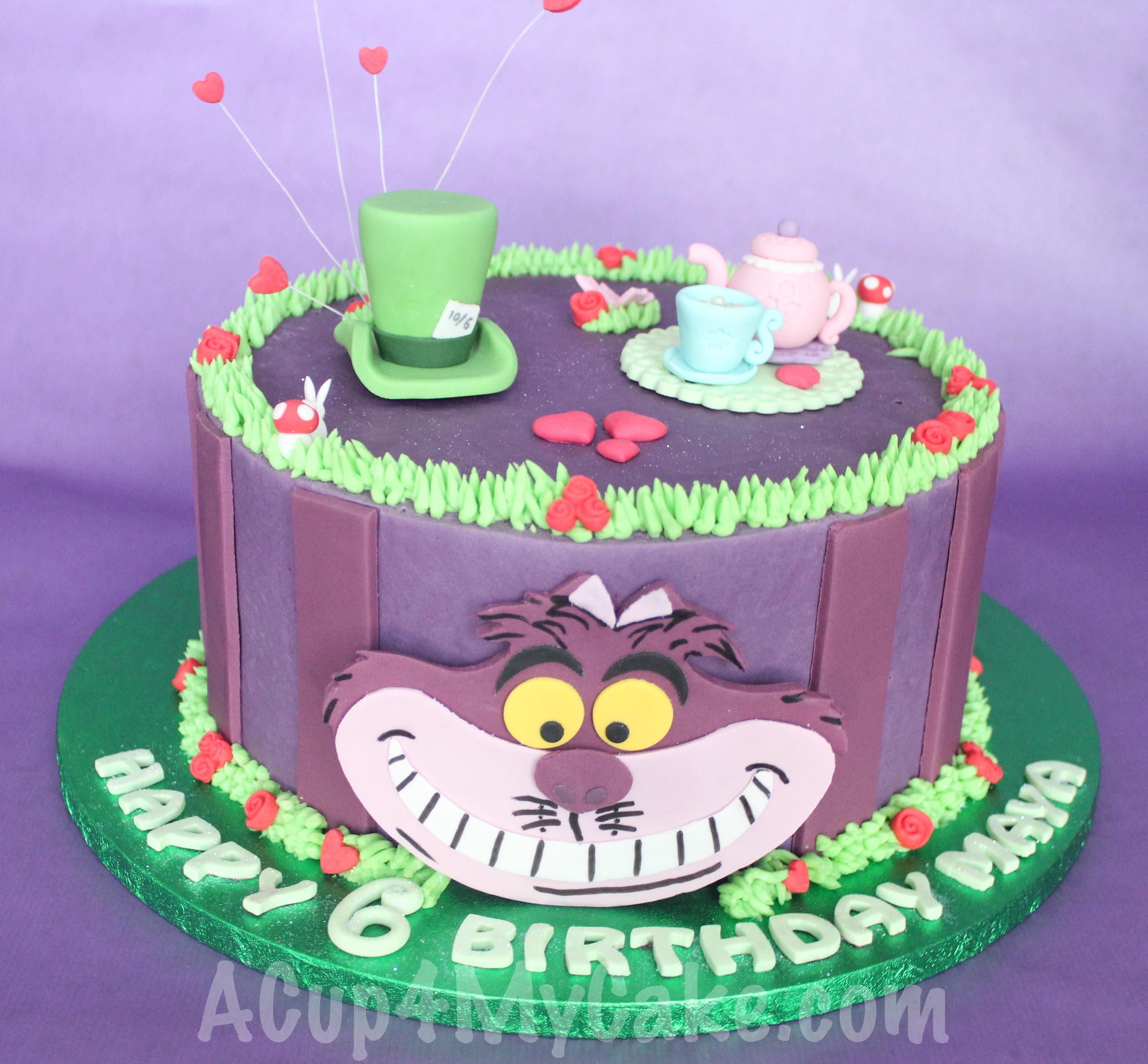 Cheshire Cat Cake Alice In Wonderland