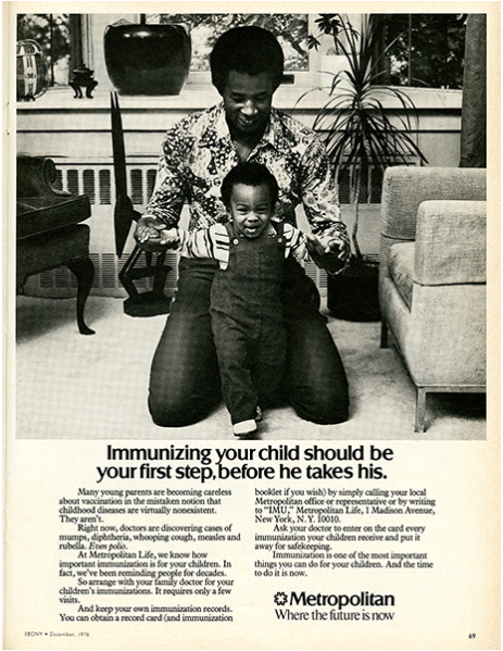 """""""Immunizing your child should be your first step, before"""