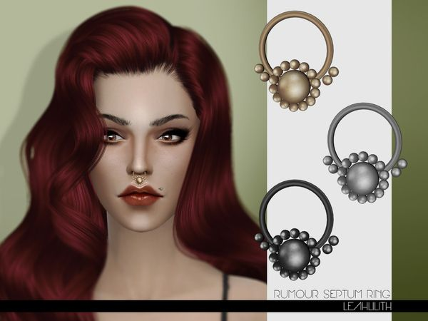 Sims 4 CC's - The Best: Jewelry by Leah Lilith