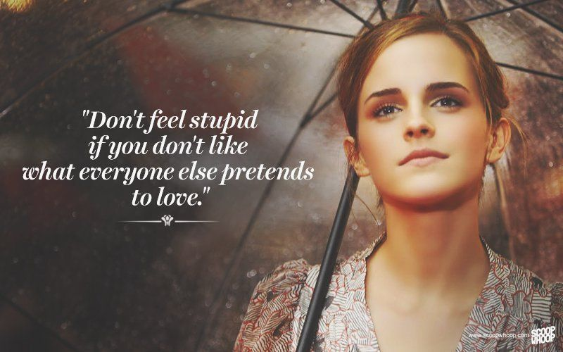 Emma Watson Quotes 21 Emma Watson Quotes That Prove She's A True Symbol Of Beauty  Emma Watson Quotes