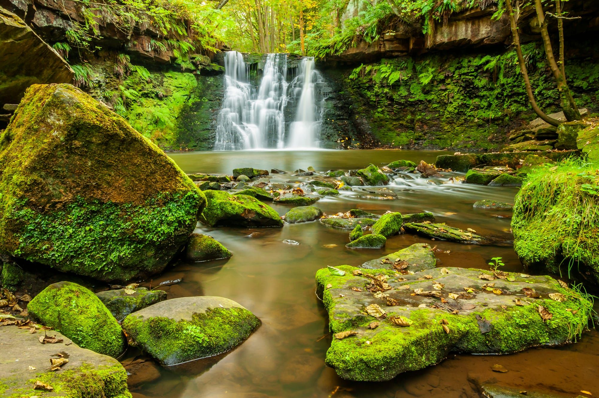Goit Stock Falls on Harden Beck (re-visited) by Mariusz Talarek on 500px