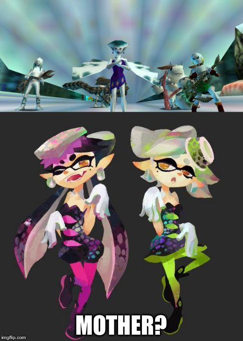 Pin By Ariel Lihs On 00 Cute Splatoon Squid Sisters Splatoon Splatoon Squid