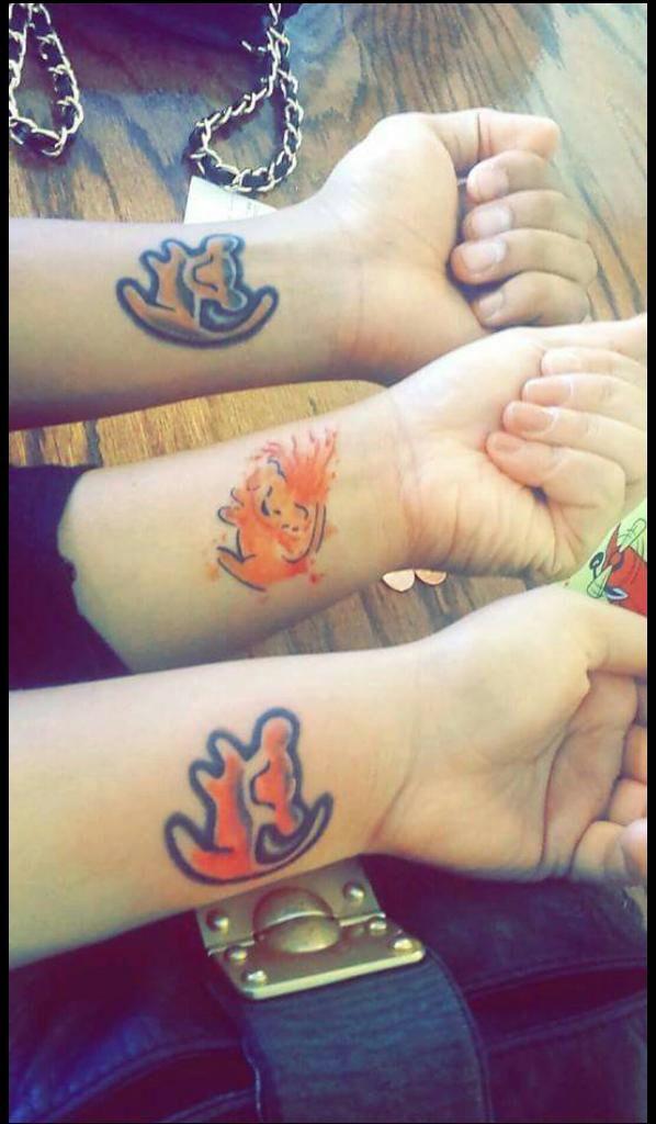 Lion King *Sibling Tattoos Simba circle of life rafiki ...
