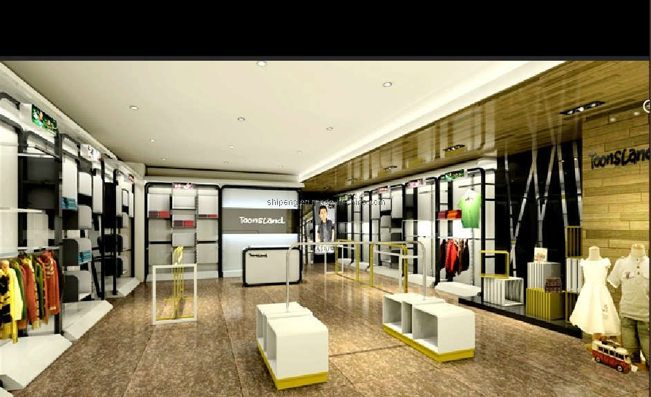 443571293dd ladies clothing store interiors | Fashion Kids Store Interior ...