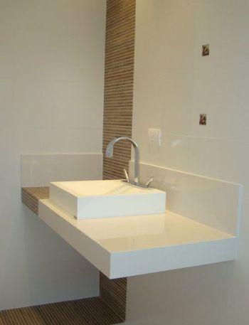 Bancadas De Banheiro E Lavabo Clique Arquitetura Porcelanato