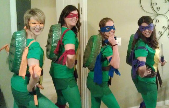 59 Homemade DIY Teenage Mutant Ninja Turtle Costumes | Ninja turtle costume,  Teenage mutant ninja turtles costume, Turtle costumes