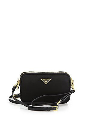 e1d588342ed7 Prada Nylon Camera Bag | Togs | Leather camera bag, Bags, Prada tessuto