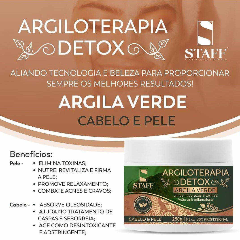 Argila Verde Elimina Toxinas Relaxamento Da Pele Nutre