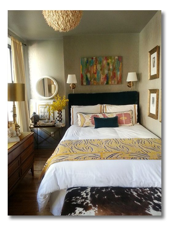 ditto | a room I love :: a layered and narrow bedroom