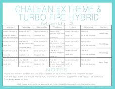 Turbo Fire ChaLEAN E - http://teambeachbody.com/shop/-/shopping/CHALEAN?referringRepId=1028671 Body Beast ChaLEAN Extreme Turbo Fire ChaLEAN Extreme Hybrid Schedule Month 2 ChaLEAN extreme Get ready to burn fat, boost your metabolism, and get LEAN with ChaLEAN Extreme®, my new, clinically proven fat loss system that uses cardio and resistance training in a brand-new way to get you better results in less time. Now you can burn up to 60% of your body fat in just 3 months and s