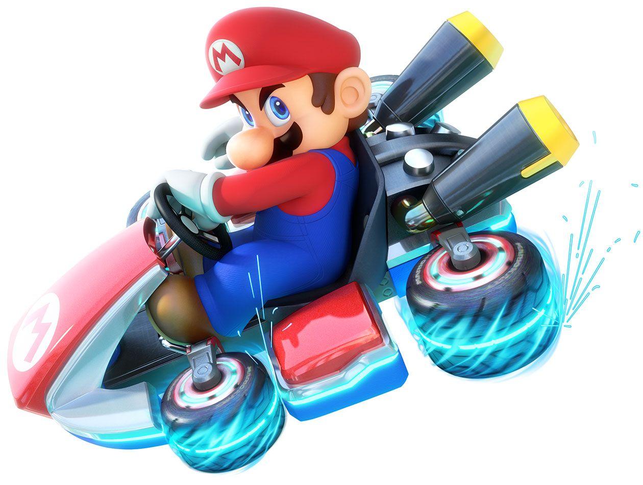 Mario Riding Kart Characters Art Mario Kart 8 Mario Kart 8 Super Mario Mario Bros