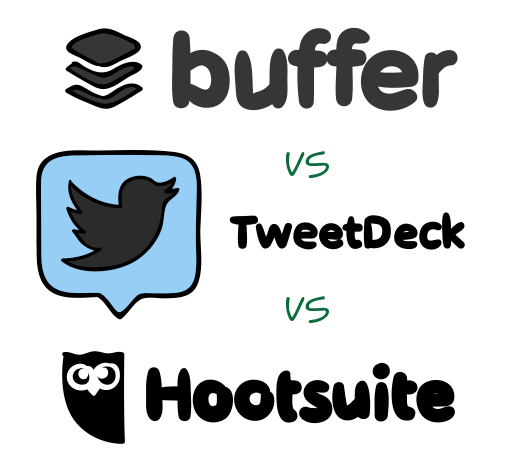 Compare Social Media Management Tools Buffer Tweetdeck And Hootsuite To Find The Solution That Wo Social Media Social Media Management Tools Social Media Tool
