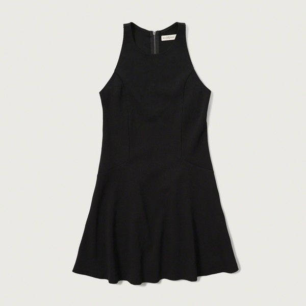 Abercrombie & Fitch Drop Waist Skater Dress ($54) Liked On