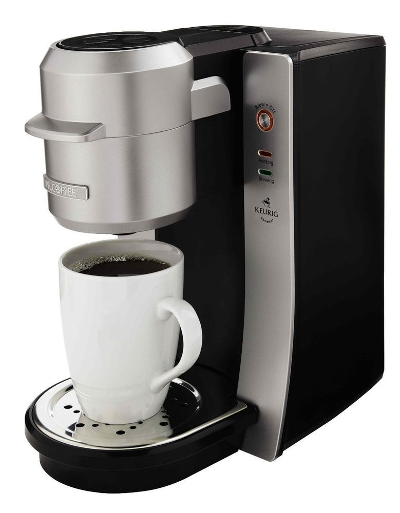 Keurig Brewing Technology Mr Coffee Single Cup Brew Server Coffee