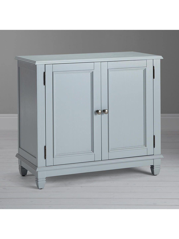 John Lewis & Partners Hamilton Storage Cupboard, Grey ...