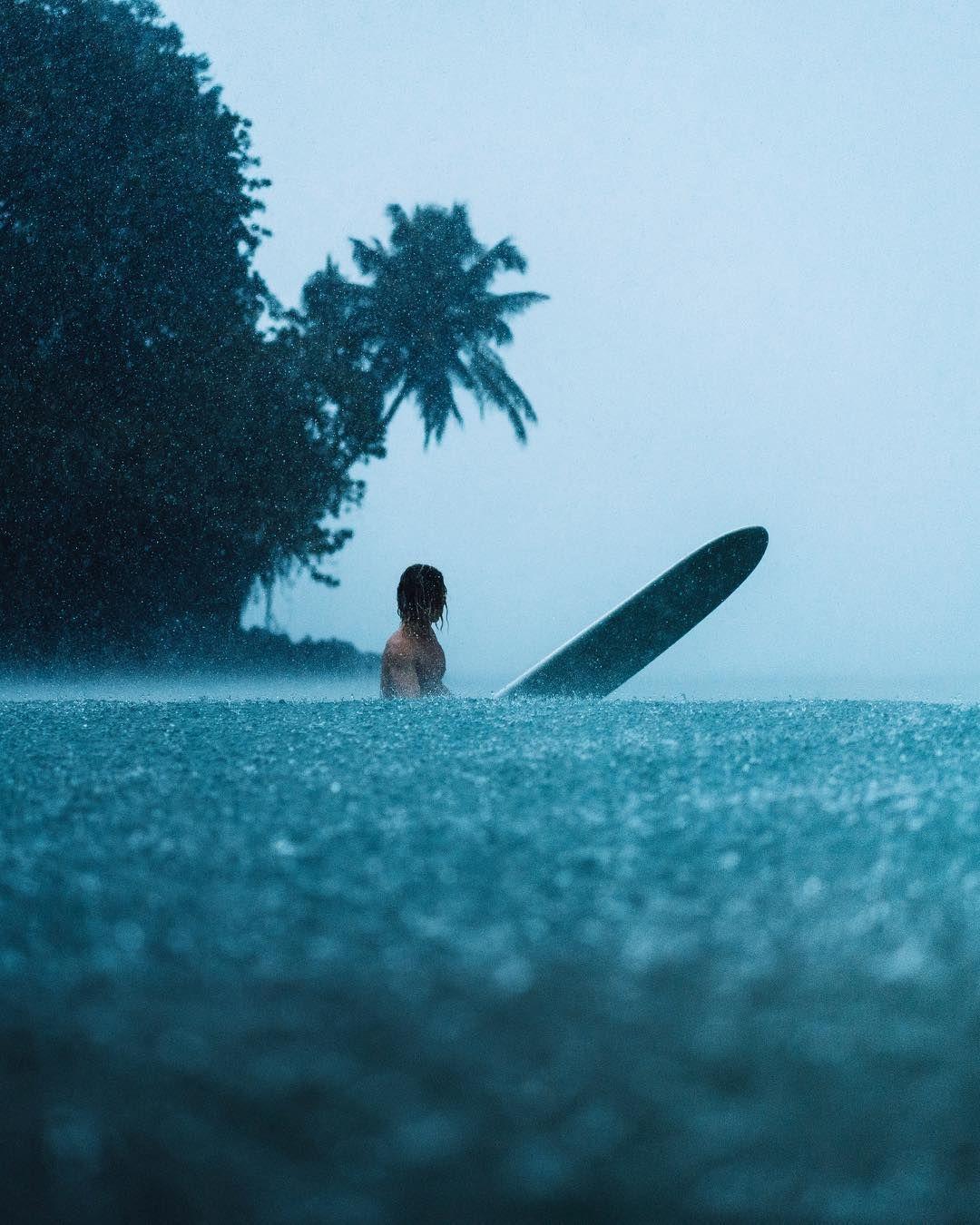 Surf Rain Waves Photography Vhs In 2019 Beach Rain