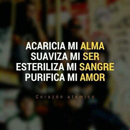 #Zoé #Corazónatómico