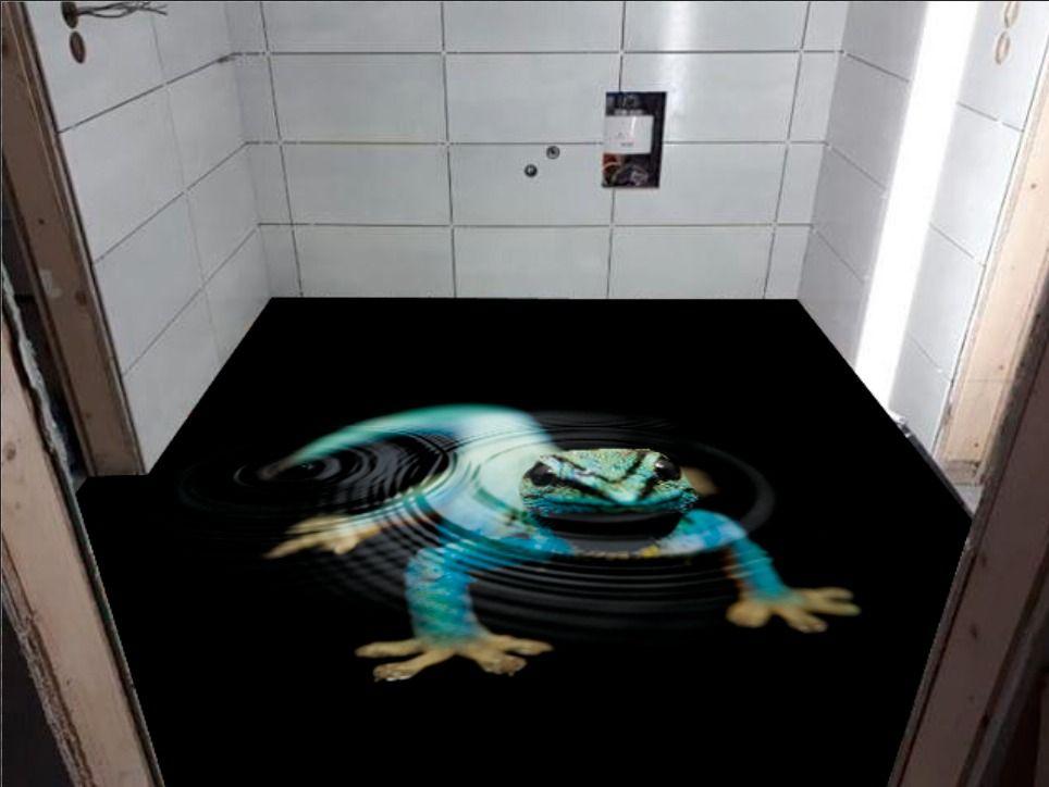 Stedfloor 3d Boden Wc Raum Bodenbeschichtung Boden 3d