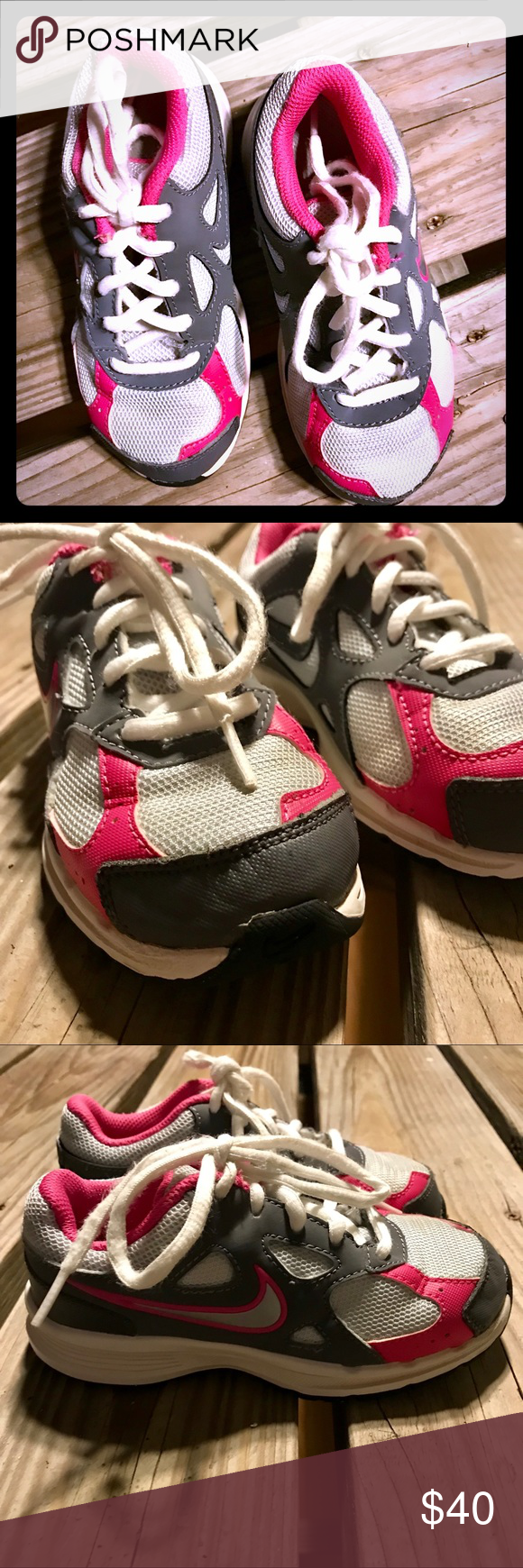 Nike Airmax, Girls, 10 Toddler Size 10, Shoes sneakers and Nike shoe