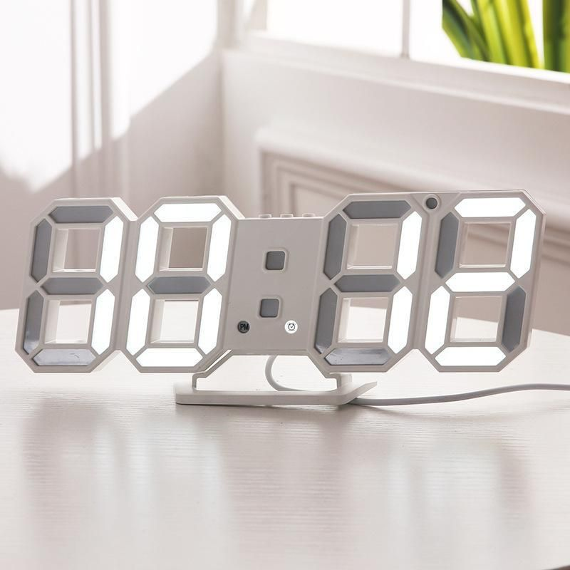 3D LED Wall Clock in 2019 | Products | Large digital clock