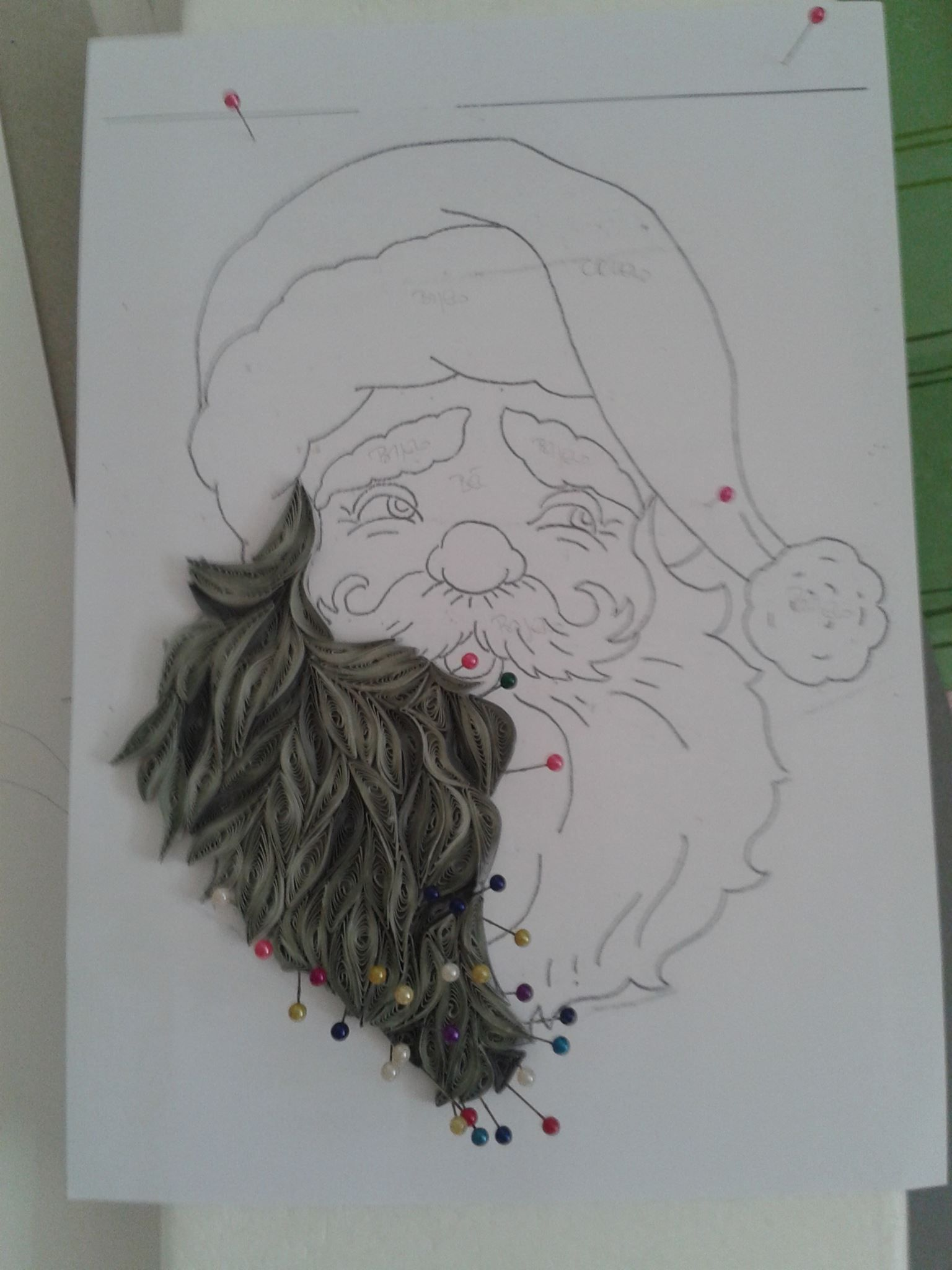 Quilling santa BY Branka Miletić! | All about quilling technique ...