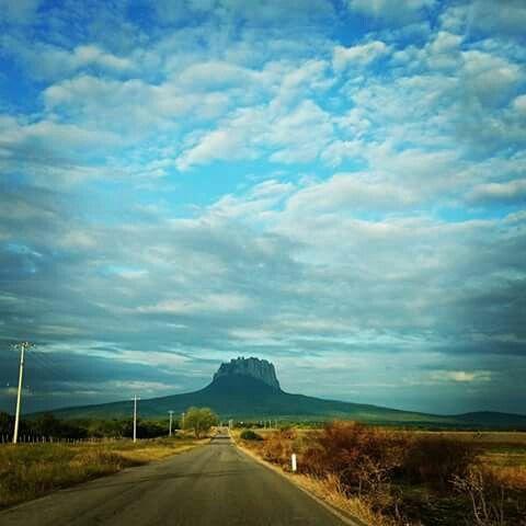 Cerro del bernal tamaulipas,méxico