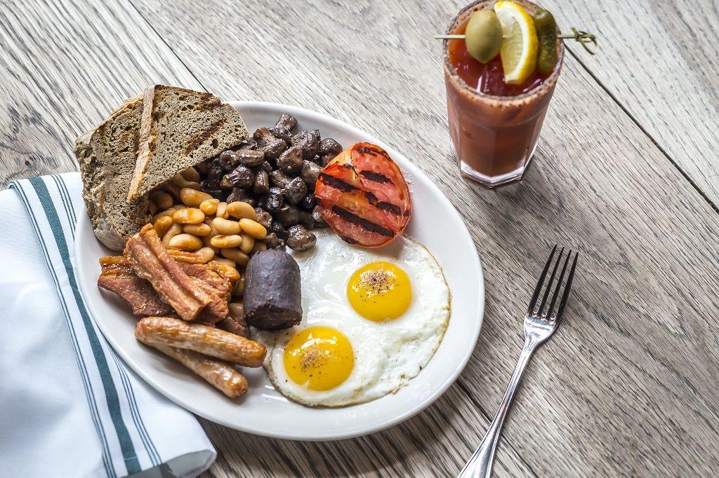 Full Irish breakfast at The Wren