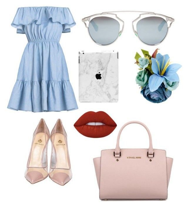 """""""Cute"""" by llizl on Polyvore featuring мода, Michael Kors, Semilla, Christian Dior и Lime Crime"""
