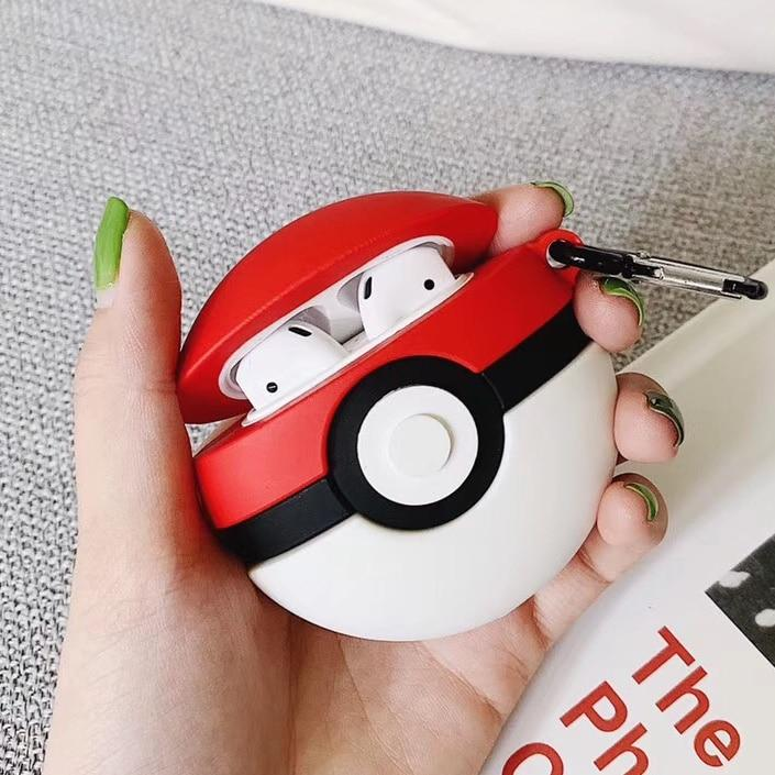 AirPods Case Cover In Pokemon Design