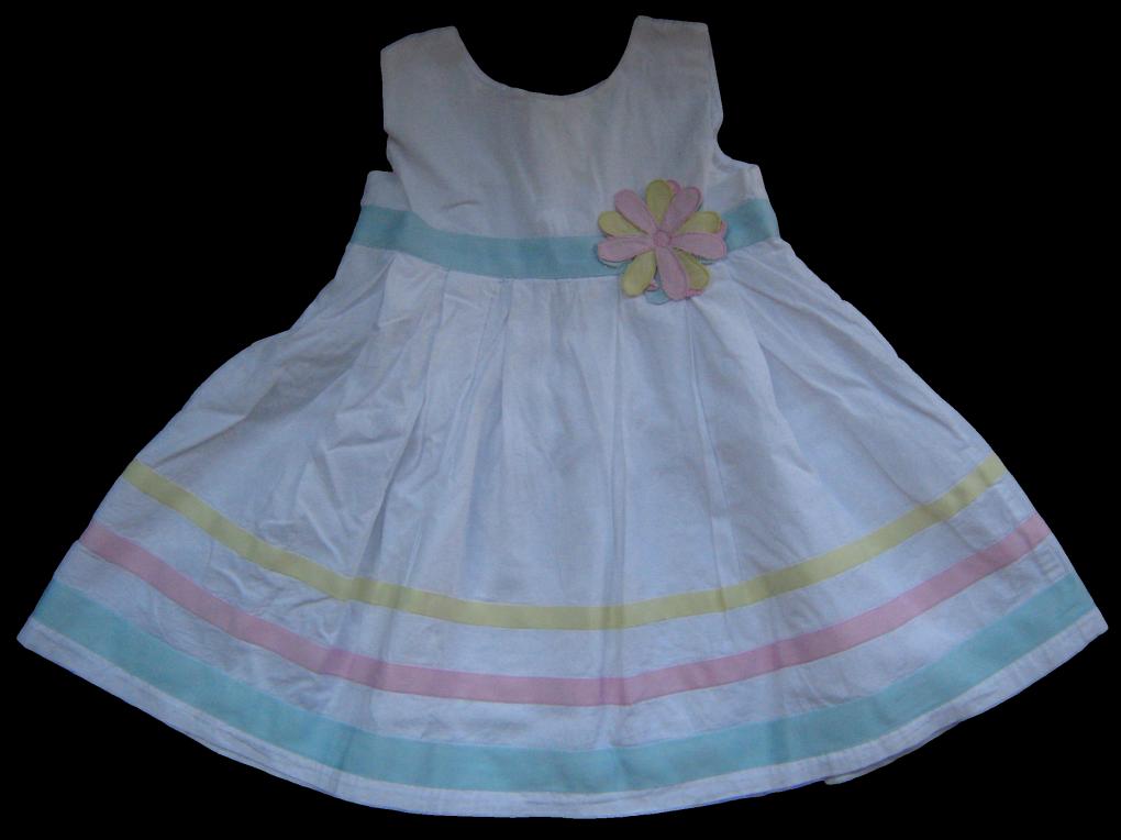Witte jurk maat 80
