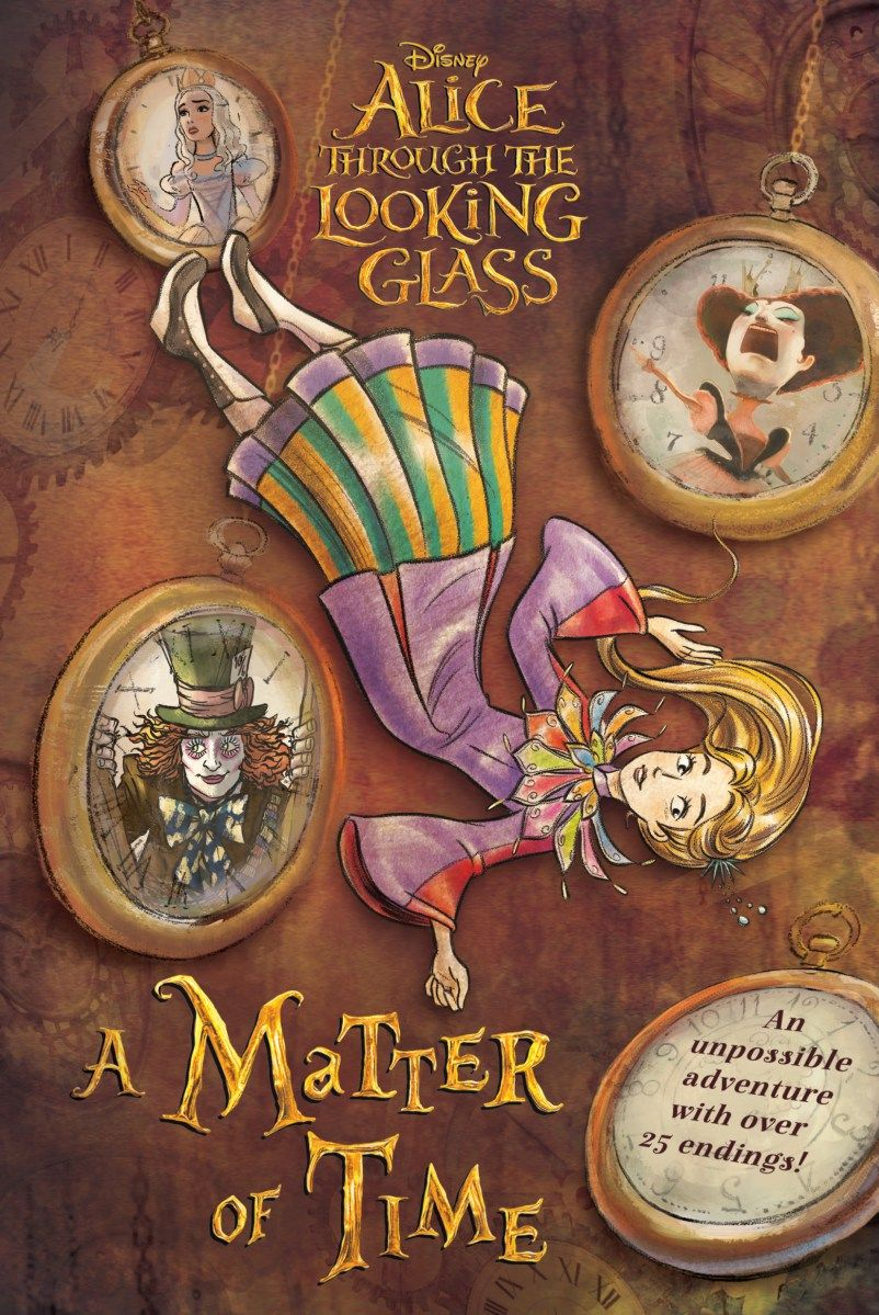 Alice Through The Looking Glass A Matter Of Time Alice In
