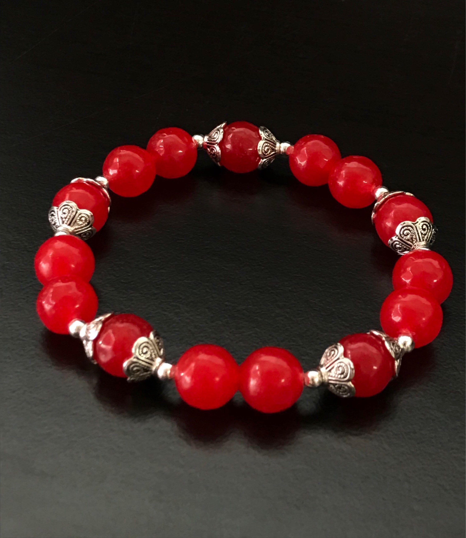 Carnelian Mala Guru Bead Set Beads 10mm Red  Gemstones Jewellery Making Crafts