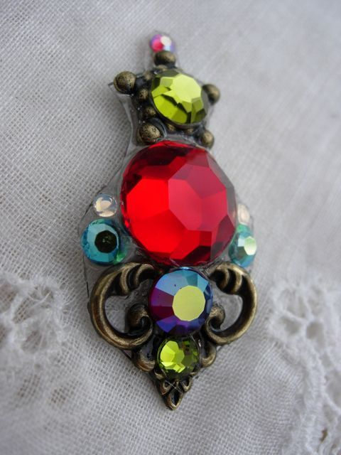a bright custom I made a while back! So rich and colorful!