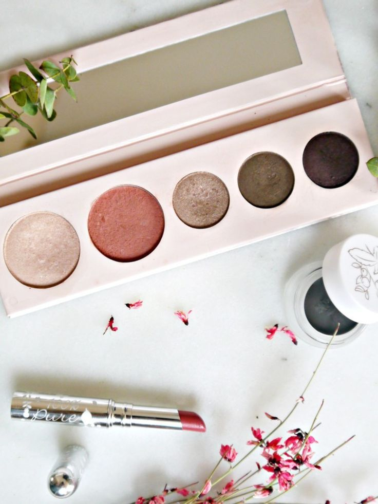 My 3 Favorite Products from 100% Pure #organicmakeup