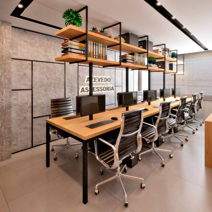 Design For An Accounting Office With An Industrial Footprint What Ac Office Buro Office Interior Design Small Office Design Modern Office Design