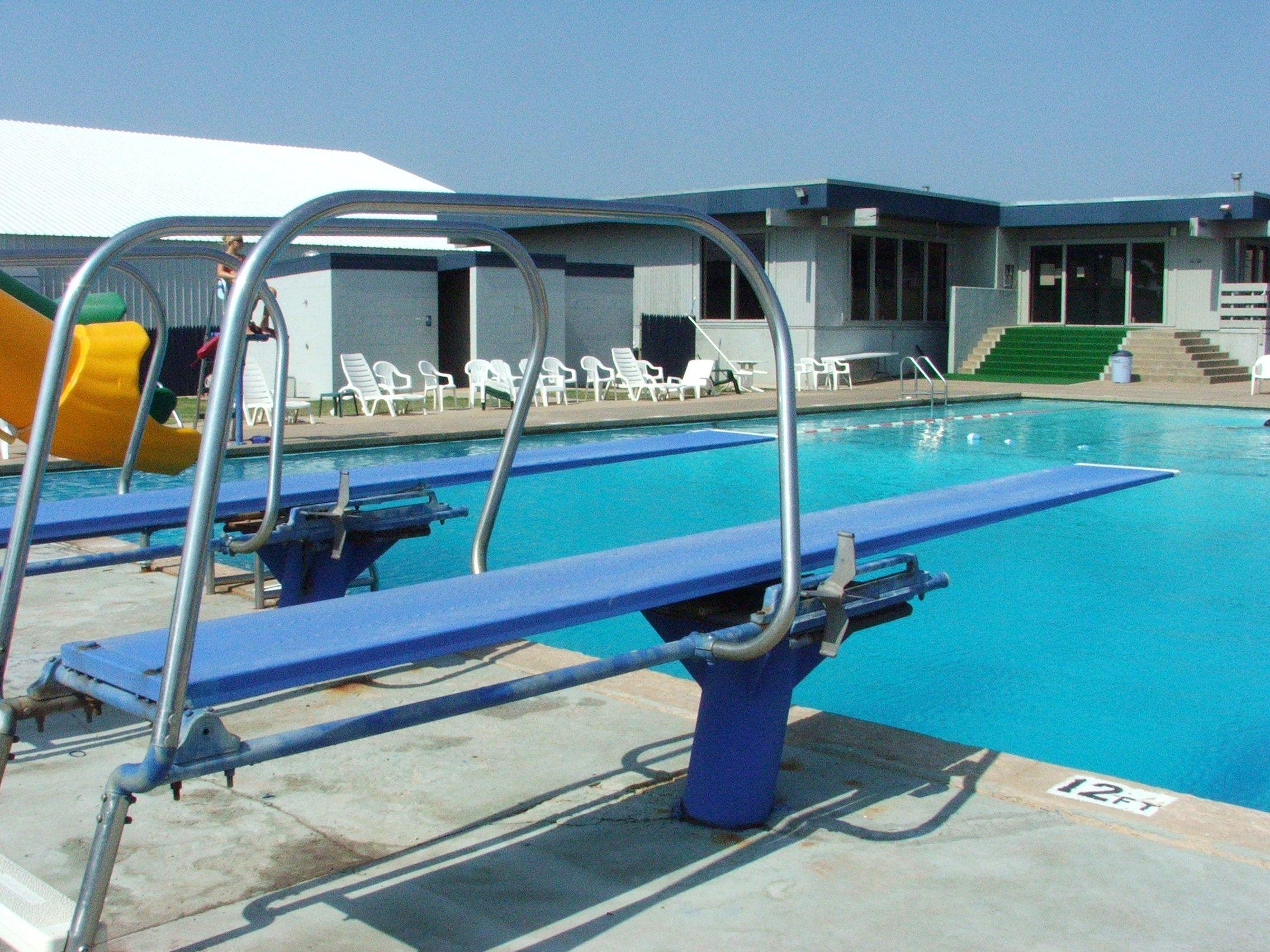 Pin L Johnstone Pool Diving Boards Swimming