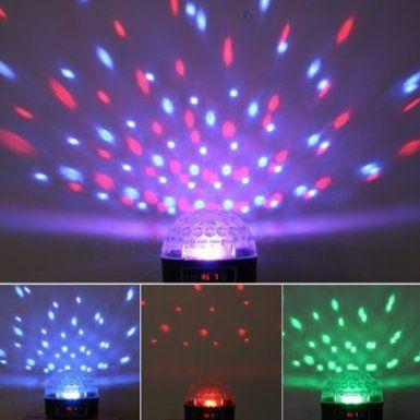 Amazon Generic Disco Stage LED RGB Crystal Magic Effect Dot Light Ball