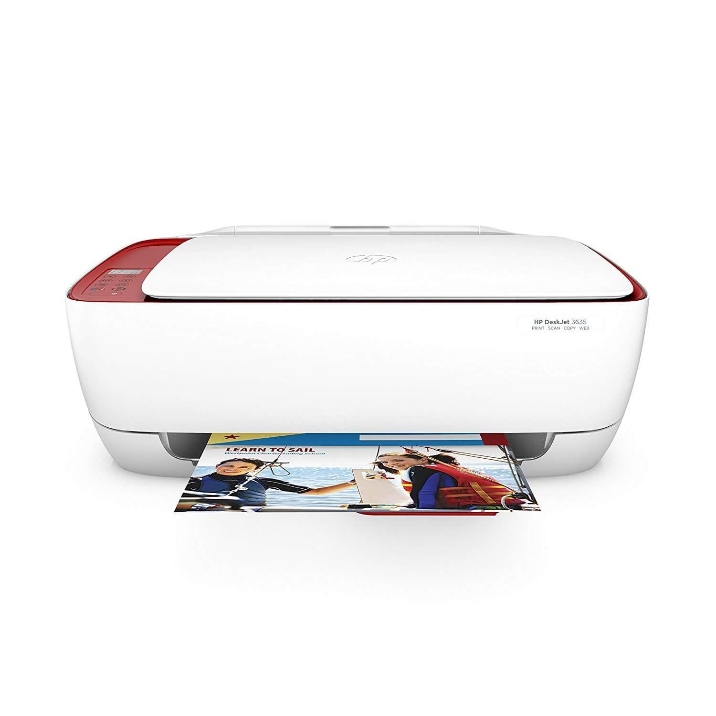 Hp Deskjet 3635 Aio La Mejor Impresora Multifuncion De Tinta