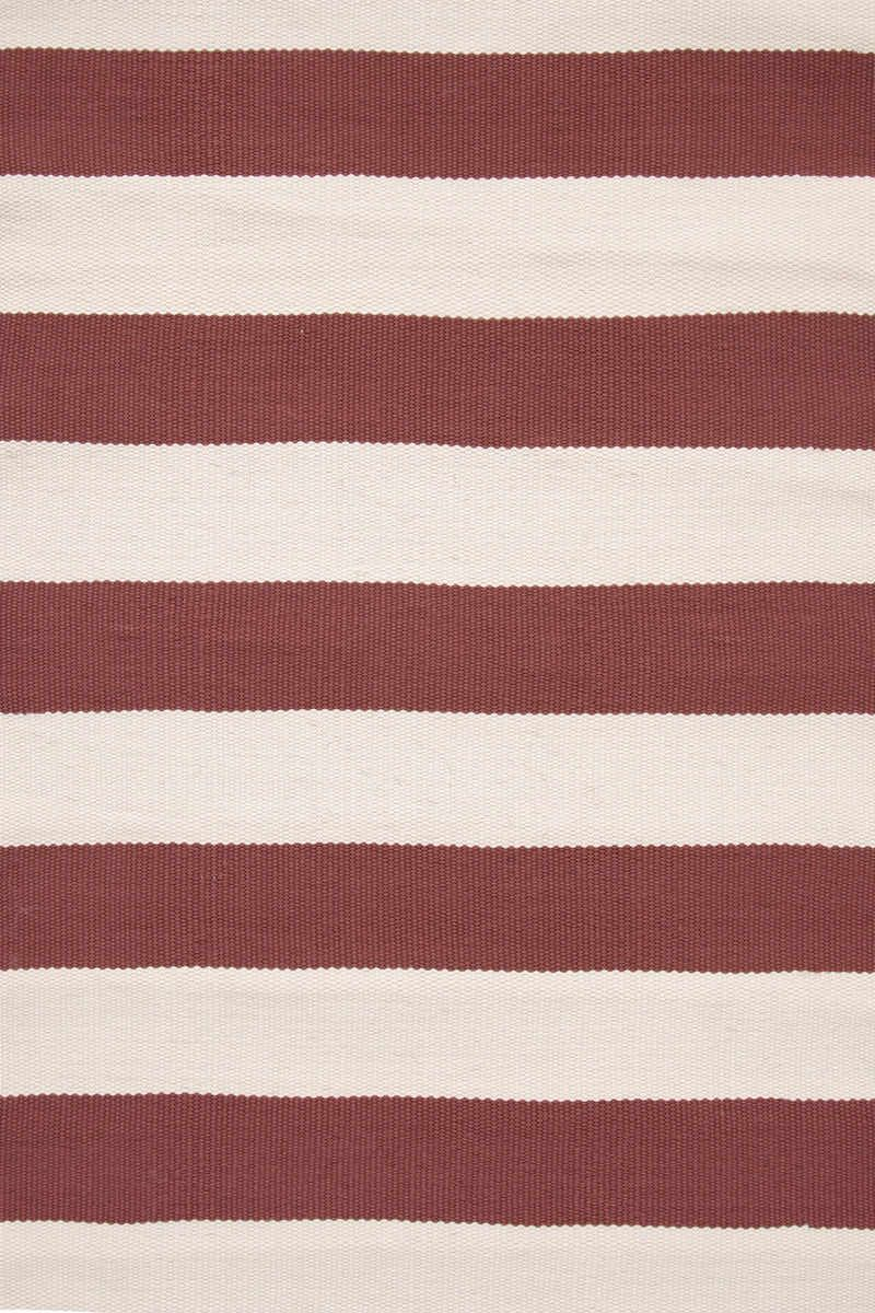 Bold Red Stripes For Indoors Or Out Catamaran Stripe Indoor Outdoor Rug In