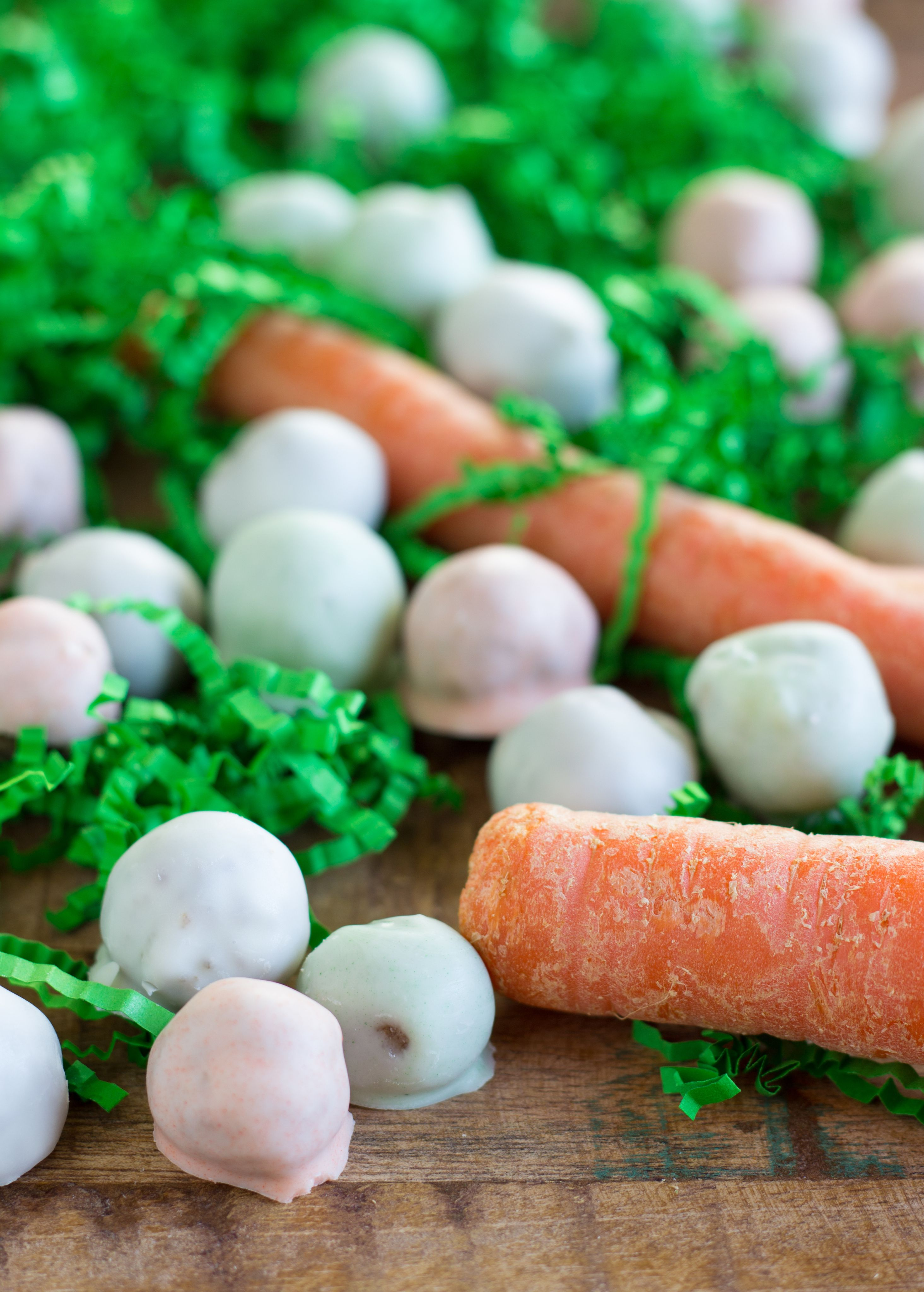 Carrot cake mms easter basket stuffers carrot cake